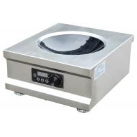 5000W High Efficiency Commercial Induction Wok Cooker With One Burner Easy Operation