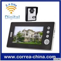 Buy cheap 7 inch Wireless Video Door Phone for Home Office Villa product