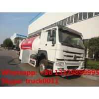 Buy cheap SINO TRUK HOWO brand propane gas dispensing truck for sale, 10metric tons cooking gas dispensing truck for retail from wholesalers