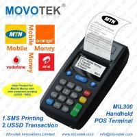 Buy cheap Movotek GPRS SMS POS Printer with for Tigo Mobile Money from wholesalers