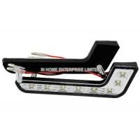 Buy cheap No Flickering or Buzzing White LED DRL Lights For Cars , 128 LM Plastic Cover from wholesalers
