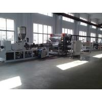 Buy cheap PVC PP PE Board Twin Screw Extruder , Automatic Plastic Extruder from wholesalers