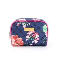 Buy cheap Waterproof Canvas Material Floral Printed Pouch Cosmetic Bag Custom from wholesalers