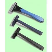 Buy cheap Super Sharp / Super Thin Twin Blade Disposable Razors With Plastic Handle from wholesalers