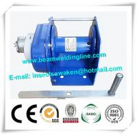 Buy cheap Manual Trolley Electric Hoist Crane for Wind tower production line, Electric Hoist Crane from wholesalers