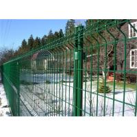 Buy cheap PVC Powder Coated Galvanized Metal Welded Wire Mesh Fence from wholesalers