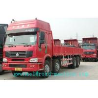 Buy cheap SINOTRUK HOWO 8x4 Heavy Cargo Trucks / Diesel Box Stake Truck ZZ1317N3867N1 from wholesalers