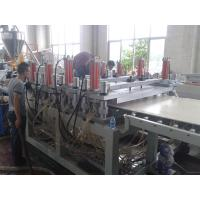 Buy cheap Building Application PVC Foam Board Extrusion Line Single Screw Extruders from wholesalers