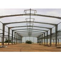 Buy cheap ISO Steel Frame Structure Warehouse Low Carbon Good Plasticity And Toughness from wholesalers