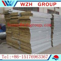 Buy cheap 100kg/m3 insulation rockwool panel / wal panel made in China from wholesalers