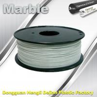 Buy cheap Marble 3D High Strength Printer Filament 3mm / 1.75mm , Print temperature 200°C - 230°C product
