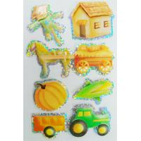 Buy cheap Shinning Decor Small Hologram StickersSheets , Personalized Hologram Stickers from wholesalers