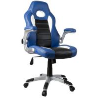 Buy cheap PU Leather Material Adjustable Office Chair With Wheels Various Color from wholesalers