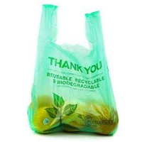 Buy cheap Pp Hdpe Degradable Bio Shopping Cornstarch Compostable Supermarket Carrier Bags from wholesalers