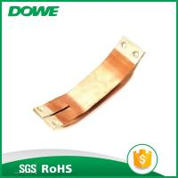 Buy cheap Electrical soler tinned compact copper foil connector from wholesalers