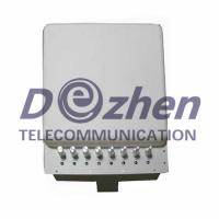 Buy cheap Adjustable 3G 4G Wimax Mobile Phone WiFi Signal Jammer with Bulit-in Directional Antenna from wholesalers