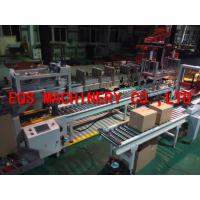 0.4KW Grasper Type Automatic Packing Machine 10-15 Cartons / Min Touch Screen Controlled