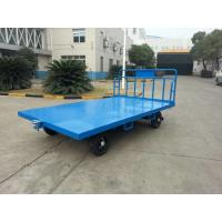 Buy cheap Portable Airport Baggage Trailer Fool Proof Design Hitch With 3 Mm Checker Plate from wholesalers