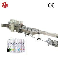 Buy cheap Automatic Aerosol Filling Line for  Perfume / Body Spray / Deodorants from wholesalers