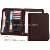 China Business A4 leather File Folder on sale
