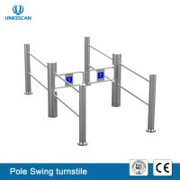 Buy cheap Facial Recognition Swing Security Turnstile Gate NFC Card Reader For School / Hospital from wholesalers