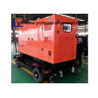 Buy cheap Water Cooled 100kVA Diesel Trailer Generator Cummins Engine With Soundproof Canopy product