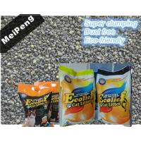 Buy cheap Super clumping dust free cat litter factory/bentonite cat litter Exporter from wholesalers