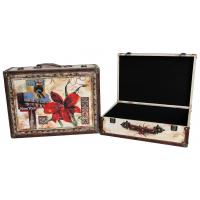 Buy cheap Decorative Canvas Suitcase (SJ08267) from wholesalers