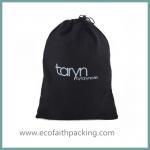 Buy cheap black velvet shoes bag velvet dust bag with your logo printing large capacity from wholesalers