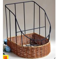 Buy cheap 2016 Hot sale Plastic Rattan Bake Basket,  bottom size 35.5X30,X20/40CM from wholesalers