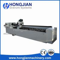 Buy cheap DM Grinding Machine Brushing Machine for Embossing Cylinder Making Embossing Roller Laser Etching Process Brush Rotation product
