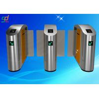 Buy cheap Finger Printer Speed Gates Entrance Turnstiles Access Control System from wholesalers