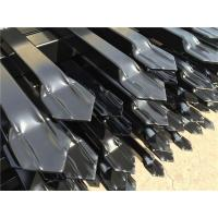 Buy cheap Steel Tubular Garrison Security Fencing Panels 2.1mtrs x 2.4mtrs Stain Powder Black from wholesalers