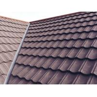 Buy cheap WaterProof Classical Metal Roofing Tiles , stone coated roofing sheets for house from wholesalers