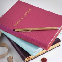 Buy cheap saddle-stitching school notebook with printing cover from wholesalers