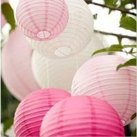 Buy cheap Hot sale pink chinese handmade paper lantern from wholesalers