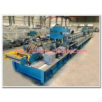 Buy cheap Two Waves Steel Expressway Guard Rail Making Machine with Gear Box Transmission from wholesalers