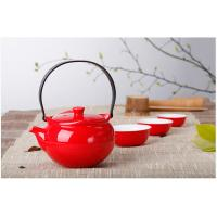 Buy cheap Lantern type tea sets cups with teapot from wholesalers