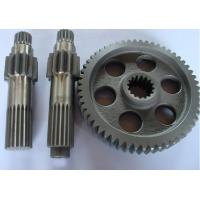 Buy cheap copper, brass, bronze gear shaft for machine, machinery parts customized small module pinion spur gear shaft from wholesalers