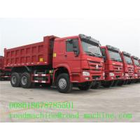 Buy cheap Transportation Trailer Multi Axle Trailers To Transport Stone Ore dumptruck from wholesalers