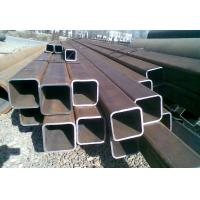Buy cheap ERW Square Iron Pipe , Galvanised Steel Square Tube Low Carbon from wholesalers