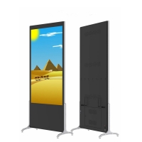Quality 55 65 Inch 4K Pcap Multi Touch Screen Kiosk Floor Standing PCAP With Camera for sale