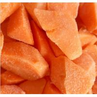 Buy cheap Vitamins Contained Frozen Processed Food , Freezing Fresh Carrots IQF Technology from wholesalers
