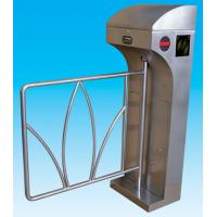 Buy cheap RS485 Stainless Steel Swing Arm Barriers Waist High For Subway from wholesalers