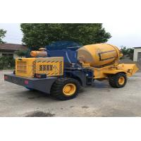 Buy cheap Adjustable Mobile Volumetric Concrete Mixers , 6252 X 2200 X 2892mm Self Mixing Concrete Truck from wholesalers