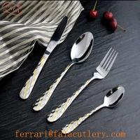 Buy cheap Mainstays Gift Packing Atlanta Table Cutlery Gold from wholesalers