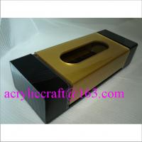 Buy cheap China acrylic tissue box, plexiglass napkin tissue holder for restaurant from wholesalers