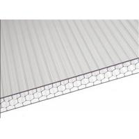 Buy cheap Sandwich Polycarbonate Roofing Sheets High Light Transmission For Carport from wholesalers