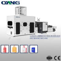 Buy cheap Wholesale Eco Non Woven Foldable Bag Making Machine Made in China from wholesalers