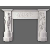 Buy cheap Marble Carved Fireplace from wholesalers